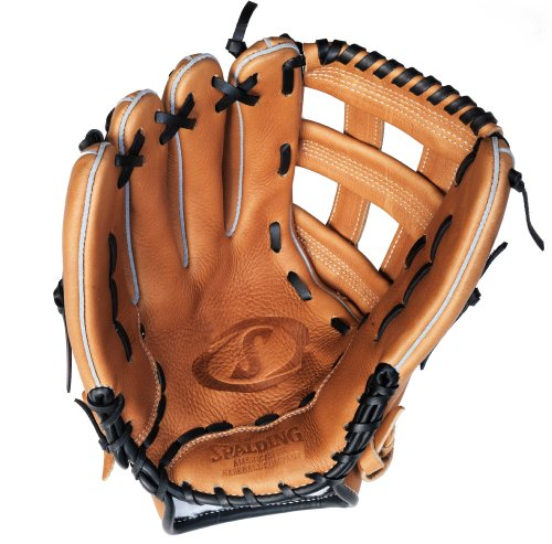 - Spalding Stadium Series H-Web 13.5-inch Softball Glove - Left-Handed Thrower (42-086FR)