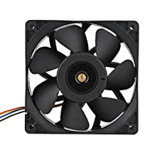 Fosa DC 12V 2.7A 6000RPM Cooling Fan Replacement 4 Pin Connector for Antminer S7 S9