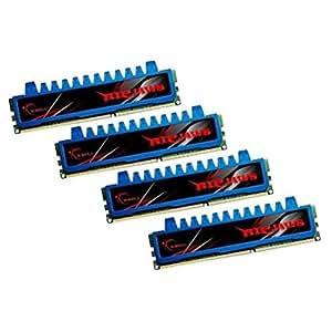 G.SKILL Ripjaws Series 8GB (4 x 2GB) 240-Pin DDR3 SDRAM DDR3 1600 (PC3 12800) Desktop Memory Model F3-12800CL8Q-8GBRM