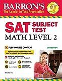 #7: Barron's SAT Subject Test: Math Level 2, 13th Edition: With Bonus Online Tests