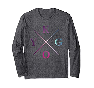 KYGO Is What I Listen To Everyday Long Sleeve T-Shirt