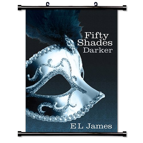 Fifty Shades of Grey (E L James) Fabric Wall Scroll Poster (16 x 25) Inches (Fabric Scroll Shade)