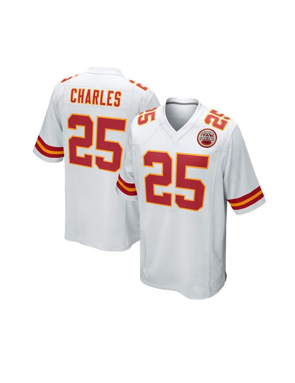 Chiefs # 15 Mahomes # 87# 10 Fu/ßballbekleidung Sport Top T-Shirt YMXBK Herren Trikot