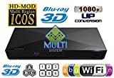 Sony 2D/3D Multi System Zone All Region Code free Blu Ray and DVD Player - Wifi