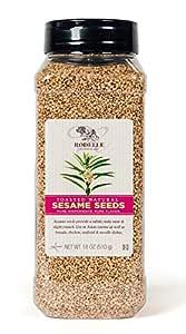 Rodelle Toasted Natural Sesame Seeds, 18 Oz