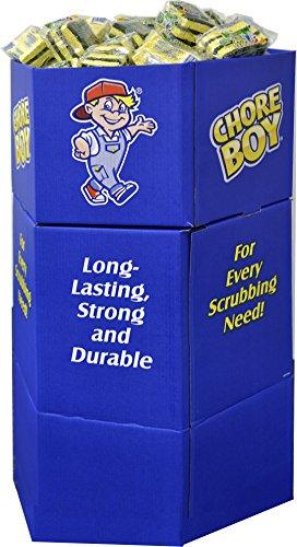 Chore Boy All Purpose & Heavy Duty 3S Dump Bin Display by Chore Boy