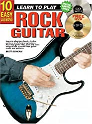 10 Easy Lessons Rock Guitar