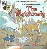 Disney's the Aristocats Disneyland Book & Record #349 1970 24 Page