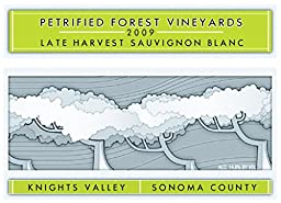 2009 Petrified Forest Vineyards Knights Valley Late Harvest Sauvignon Blanc 375 mL