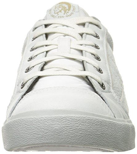 Diesel Sneaker Hombre Cordones D-String Leather White Blanco