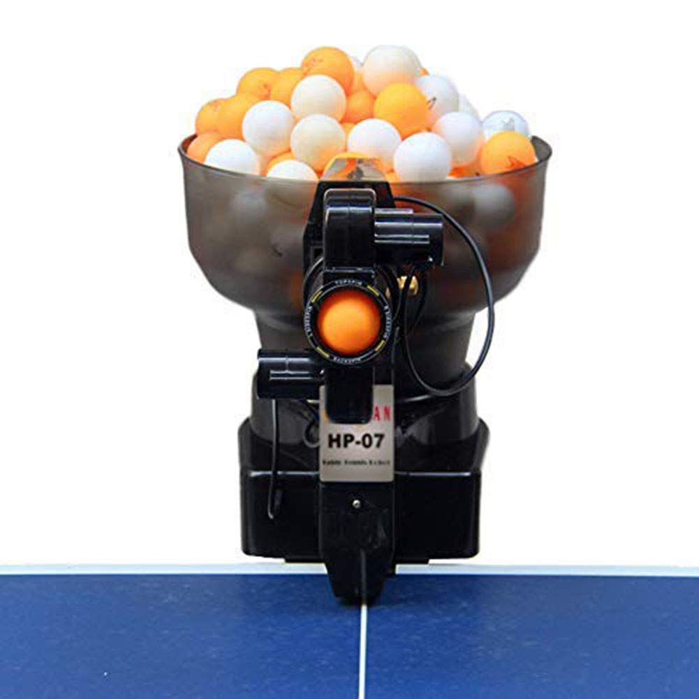 US DELIVER 36 Spins Ping Pong Ball Machine with Automatic Table Tennis Machine for Training (1)