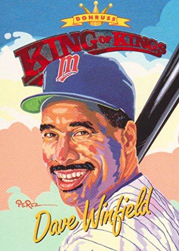 1994 Donruss Baseball Diamond Kings #DK29 Dave Winfield Minnesota Twins