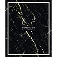 Composition Notebook: Black and White Marble College Ruled Notebook Softcover - Artistic Marble Design Notebook for Writing, School, Journal, Diary - ... - 7.5 x 9.25 inches (Composition Notebook)