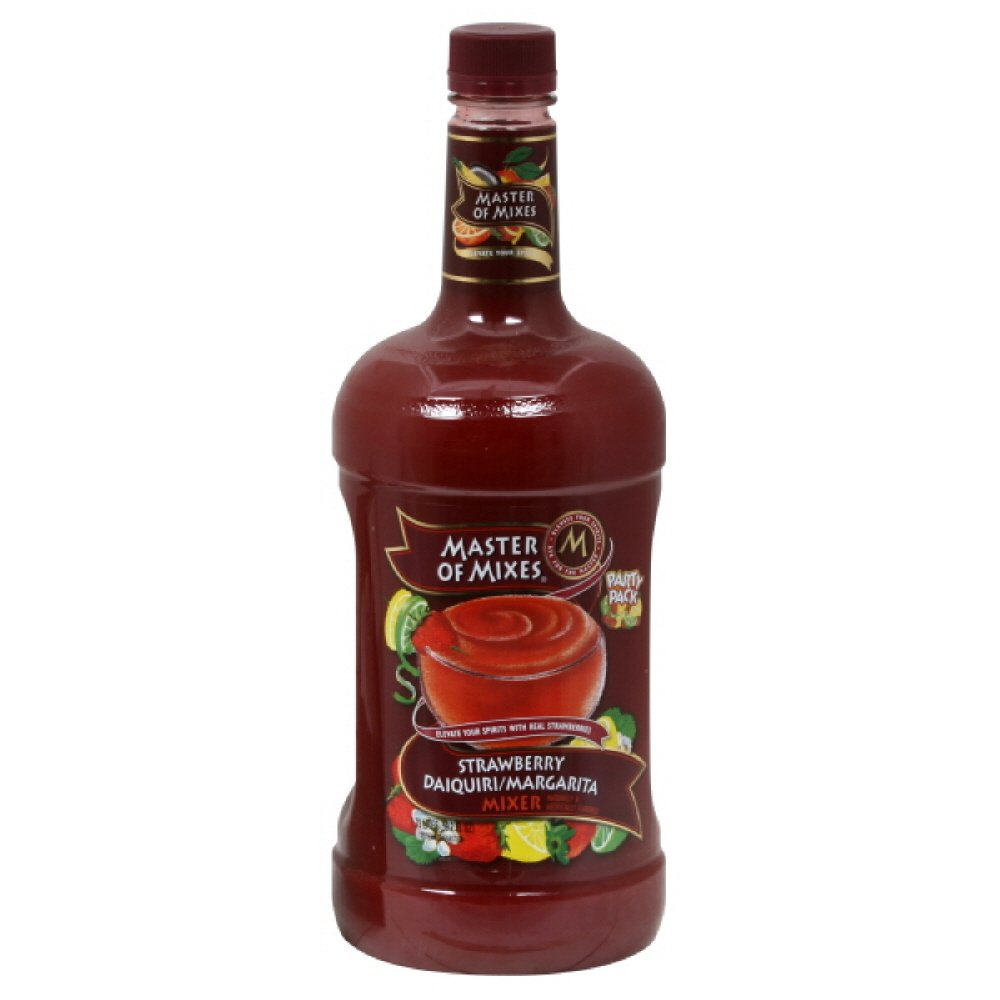 Master of Mixes Daiquiri Strawberry, 59.16-Ounce (Pack of 6)