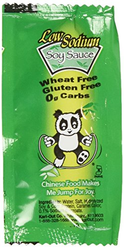 Kari Out Low Sodium Soy Sauce Gluten Free (Case of 400)
