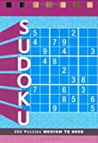 Sudoku: Medium to Hard Volume 1