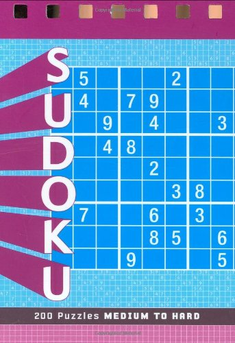 Sudoku: Medium to Hard Volume 1