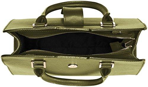 Borsa Spalla 8844 Donna a 28x22x12 L x x Chicca Verde Borse H cm W Verde W1nx4IZ