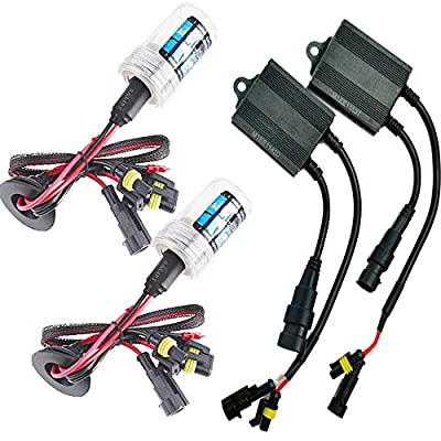 Sixty61 Kawasaki ZX6R HID 2007-2012 Xenon High/Low headlight conversion kit H9/H11 (also for years 2008, 2009, 2010, 2011)
