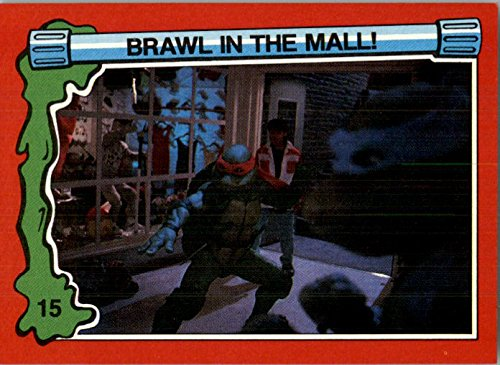 1991 Teenage Mutant Ninja Turtles II Secret of the Ooze #15 Brawl in the Mall - - Malls Co In