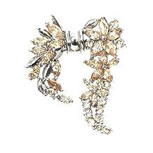 The Trending Gossa Hosta Bloom Crystal brooch pin