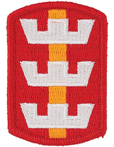 130th Engineer Brigade Full Color Dress Patch ()