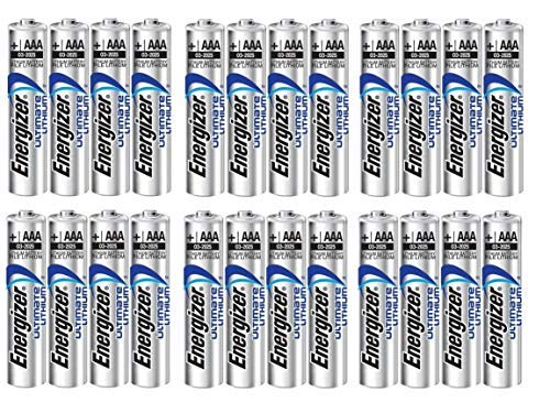 24 x AAA Energizer Ultimate Lithium (L92) Batteries by Energizer