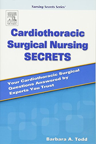 Cardiothoracic Surgical Nursing Secrets