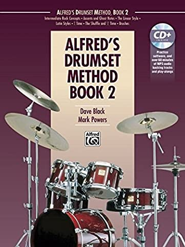 Alfred's Drumset Method, Bk 2: Book & CD - Expanded Percussion
