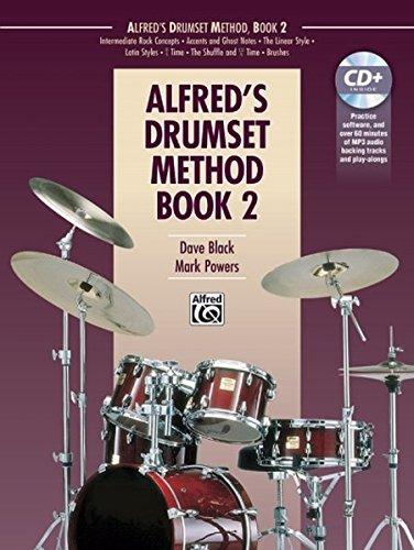 Alfred's Drumset Method, Bk 2: Book & (2 Cd Set Music Book)