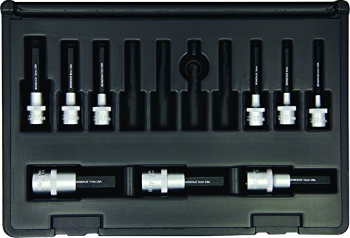 Bondhus 30298 Socket Hex Bit Tool Set with Sockets, 2