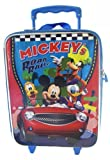 Disney Mickey Luggage - Road Rally Mickey Suitcase - Kids Travel Luggage