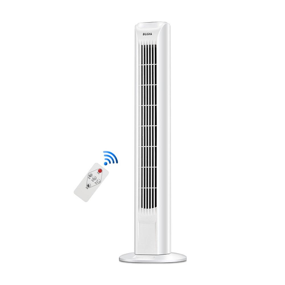 李愛 扇風機 タワーファン30インチ45Wホワイトサイレント振動3スピードコールドエアータイマーオフィス   B07GF291VT