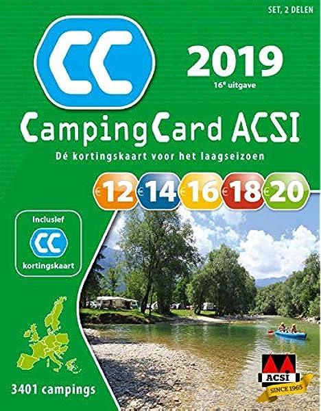 ACSI CampingCard set 2019 (ACSI Campinggids): Amazon.es: ACSI: Libros en idiomas extranjeros