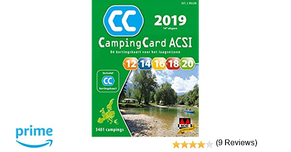 ACSI CampingCard set 2019 (ACSI Campinggids): Amazon.es ...