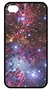 iPhone 4,iPhone 4s Cover - Fox fur nebula galaxy space Back Cases