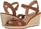 Lucky Brand Women's Marleigh Espadrille Wedge Sandal, Cedar, 6 M US