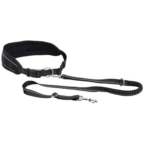 Trixie Cinturón para Correr con Perros Talla M Negro Arneses ...