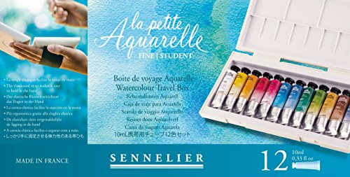 Sennelier La Petite Aquarelle 12 10Ml (Cotman Watercolor Tubes)
