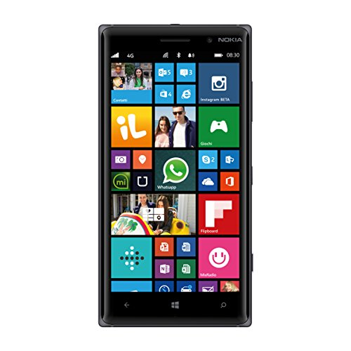 Nokia Lumia 830 GSM Smartphone, Black – AT&T – No Warranty
