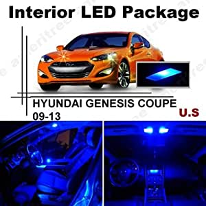 ameritree blue led lights interior package blue led license plate kit for hyundai. Black Bedroom Furniture Sets. Home Design Ideas