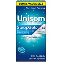 Unisom SleepGels 100 Count Value Pack (Pack of 2)