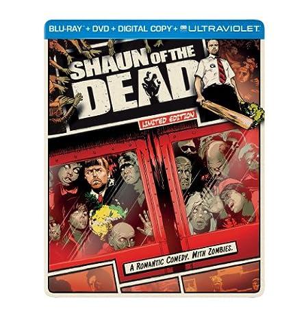 Shaun of the Dead (Steelbook) (Blu-ray + DVD + Digital Copy + UltraViolet) (Universal Studios Steelbook)