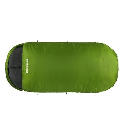 Kingcamp FREE SPACE – Saco de dormir 220 * 110 cm/2.1kg – confort