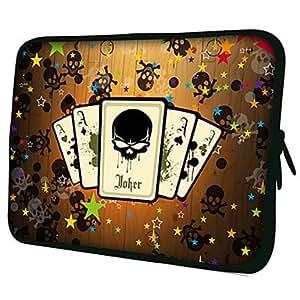 """compra Patrón Poker 7 """"/ 10"""" / 13 """"Laptop Sleeve Case para el MacBook Air Pro / Mini Ipad / Galaxy Nexus Tab2/Sony/Google 18193 , 10"""""""