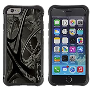 iArmor Hybrid Anti-Shock Defend Case / Abstract 3D / Apple iPhone 6