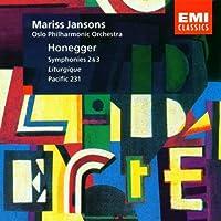 Honegger: Symphonies Nos. 2 & 3, Liturgique, Pacific 231