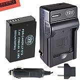 BM Premium LP-E12 Battery & Charger Kit for Canon Rebel SL1, EOS-M, EOS M2, EOS M10 Mirrorless Digital Camera