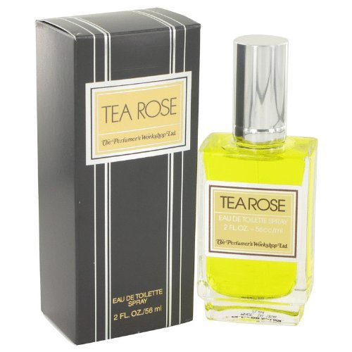 - TEA ROSE by Perfumers Workshop Women's Eau De Toilette Spray 2 oz - 100% Authentic