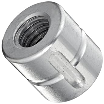 THK Lead Screw Nut Model DC12, 22mm Outer Diameter x 22mm Length, Load Capacity: 639 Pound-Force  (Pack of 5)